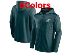 Mens Nfl Philadelphia Eagles Nike Hoodie Jacket 6 Colors