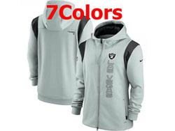 Mens Nfl Las Vegas Raiders Nike Hoodie Jacket 7 Colors