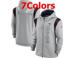 Mens Nfl New England Patriots Nike Hoodie Jacket 7 Colors