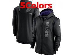 Mens Nfl Baltimore Ravens Nike Hoodie Jacket 5 Colors