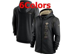 Mens Nfl New Orleans Saints Nike Hoodie Jacket 6 Colors