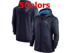 Mens Nfl Tennessee Titans Nike Hoodie Jacket 5 Colors