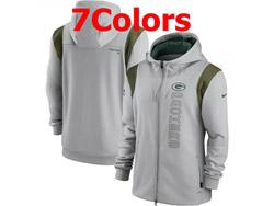 Mens Nfl Green Bay Packers Nike Hoodie Jacket 7 Colors