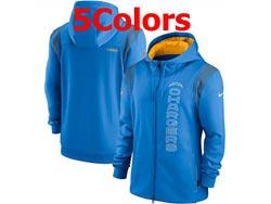 Mens Nfl Los Angeles Chargers Nike Hoodie Jacket 5 Colors