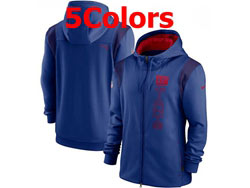 Mens Nfl New York Giants Nike Hoodie Jacket 5 Colors