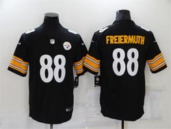 Mens Nfl Pittsburgh Steelers #88 Pat Freiermuth Black Vapor Untouchable Limited Nike Jersey