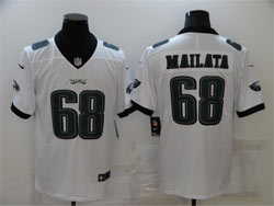Mens Nfl Philadelphia Eagles #68 Jordan Mailata Green Vapor Untouchable Limited Nike Jersey