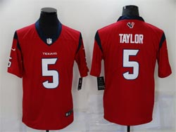 Mens Nfl Houston Texans #5 Tyrod Taylor Red Vapor Untouchable Limited Nike Jersey