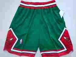 Mens Nba Chicago Bulls Green Pocket Shorts