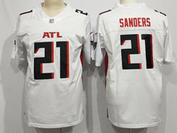 Mens Nfl Atlanta Falcons #21 Atlanta Falcons White Vapor Untouchable Limited Nike Jersey