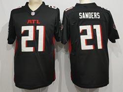 Mens Nfl Atlanta Falcons #21 Atlanta Falcons Black Vapor Untouchable Limited Nike Jersey