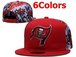 Mens Nfl Tampa Bay Buccaneers Falt Snapback Adjustable Hats 6 Colors