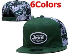 Mens Nfl New York Jets Falt Snapback Adjustable Hats 6 Colors