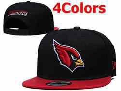 Mens Nfl Arizona Cardinals Falt Snapback Adjustable Hats 4 Colors
