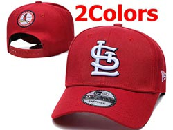 Mens Mlb St. Louis Cardinals Falt Snapback Adjustable Hats 2 Colors