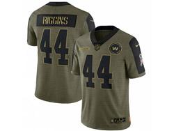 Mens Nfl Washington Football Team #44 Biggins Olive Green 2021 Salute To Service Limited Nike Jersey