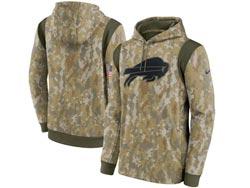 Mens Women Youth Nfl Buffalo Bills Camo 2021 Salute To Service Pullover Hoodie Nike Jersey