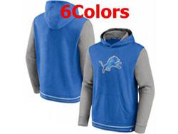 Mens Nfl Detroit Lions Pocket Hoodie Nike Jersey 6 Colors