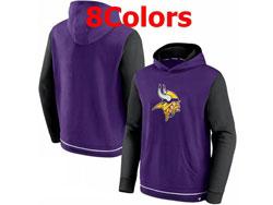 Mens Nfl Minnesota Vikings Pocket Hoodie Nike Jersey 8 Colors