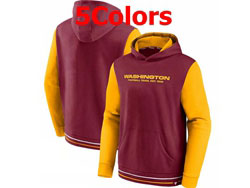 Mens Nfl Washington Redskins Pocket Hoodie Nike Jersey 5 Colors