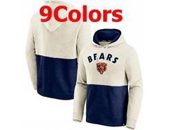 Mens Nfl Chicago Bears Nike Hoodie Jacket 9 Colors