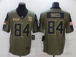 Mens Nfl Minnesota Vikings #84 Randy Moss White Vapor Untouchable Limited Nike Jersey
