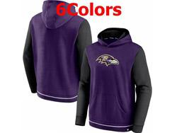 Mens Nfl Baltimore Ravens Nike Hoodie Jacket 6 Colors