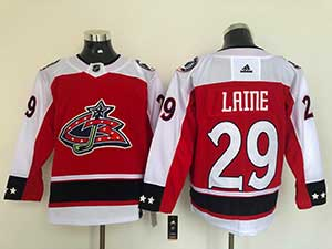 Mens Nhl Winnipeg Jets #29 Patrik Laine  Red Adidas Jersey