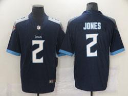 Mens Nfl Tennessee Titans #2 Julio Jones Navy Blue Vapor Untouchable Limited Player Nike Jersey