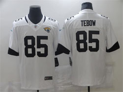 Mens Nfl Jacksonville Jaguars #85 Tim Tebow White Vapor Untouchable Limited Nike Jersey