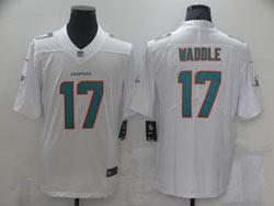 Mens Nfl Miami Dolphins #17 Jaylen Waddle White Vapor Untouchable Limited Nike Jersey