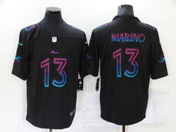 Mens Miami Dolphins #13 Dan Marino Black City Vapor Untouchable Limited Nike Jersey