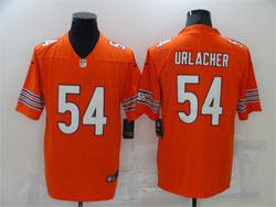 Mens Nfl Chicago Bears #54 Brian Urlacher Orange Vapor Untouchable Limited Player Nike Jersey